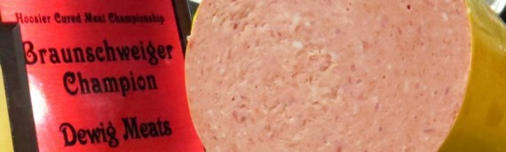 Dewig's Braunschweiger Has Won Several Awards In Local, Regional Competitions