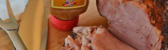 Honey Mustard Boneless Gourmet Smoked Ham