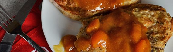 Apricot-Glazed Pork Chops