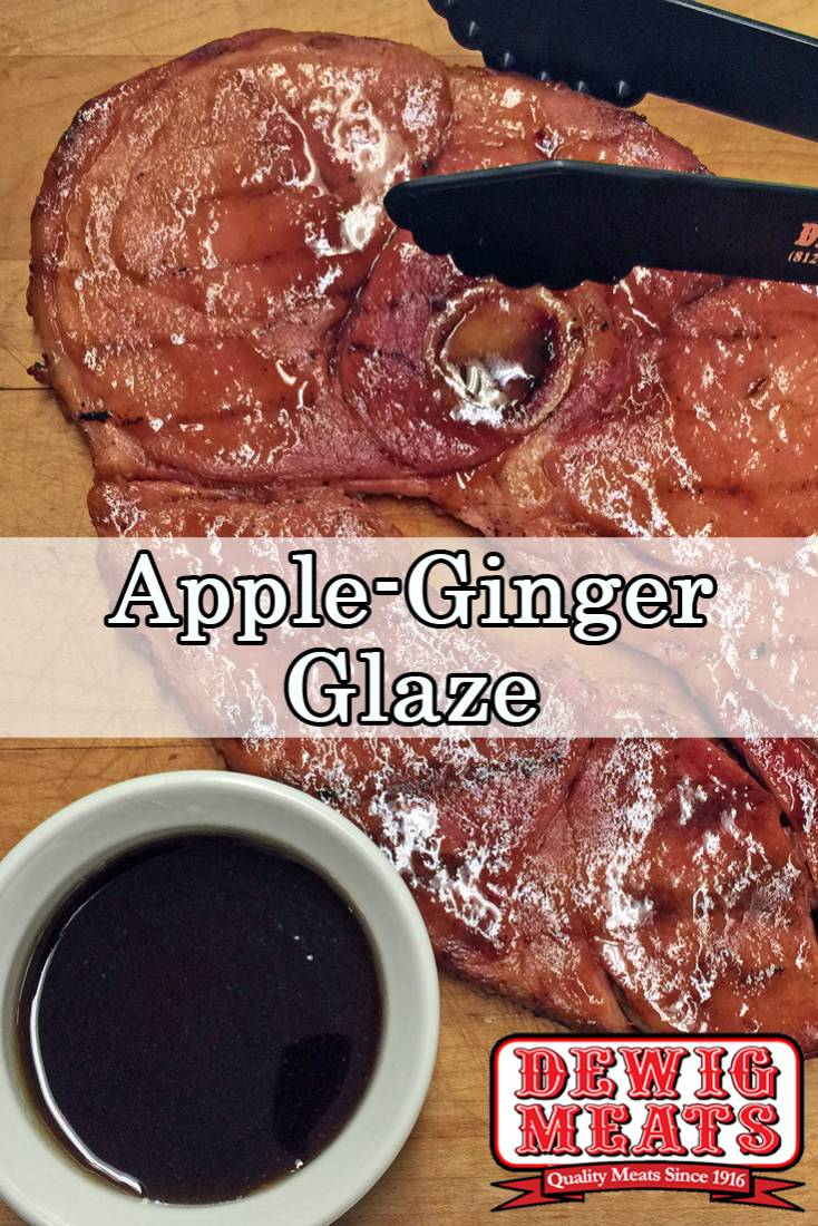 If you love sweet and tangy flavors, you'll love this recipe for Apple Ginger Glaze. It's the perfect match for any type of pork!